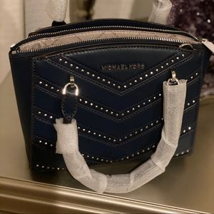 Michael kors Ellis Navy NWT